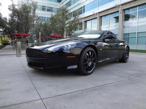 SOLD Aston Martin DB Black Black Upgrades - 2005 aston martin db9