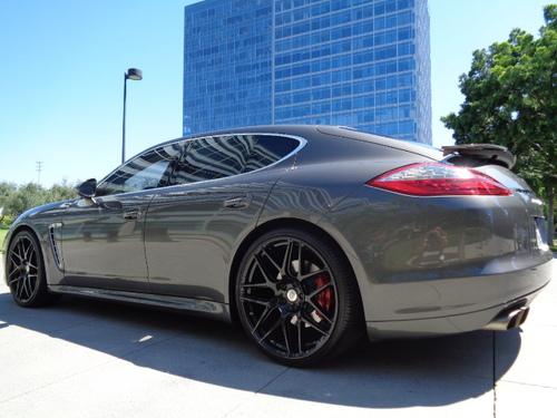 Sold 2012 Porsche Panamera Turbo S Agate Grey Metallic 19k