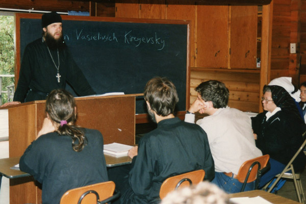 A lecture by Hieromonk Damascene during the beginning years of the Missionary School.