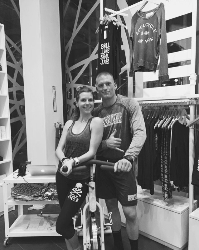 Throw back to a summer ride at the SoulCycle TriBeCa studio. We rode side by side in Senior Instructor , Charlee Atkins, 6:30 pm class. To follow, a surprise date night at a Jazz club. This night was definitely one for the books.