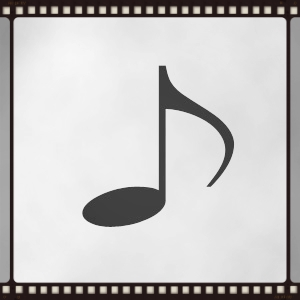 An eighth note