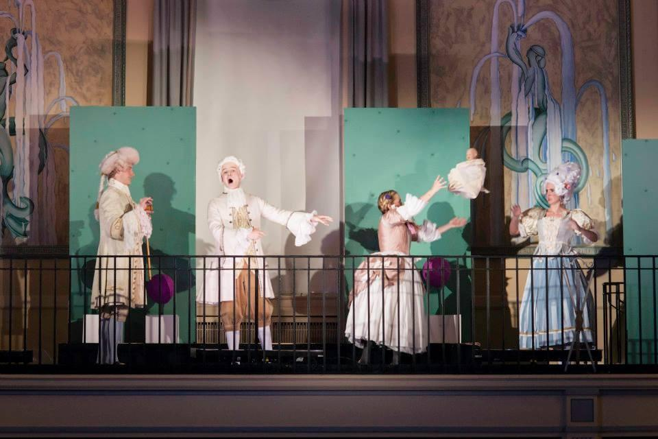 Serpetta in La Finta Giardiniera with Opera Theater Pittsburgh