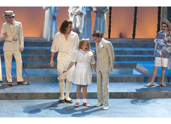 Hebe in Orpheus in the Underworld with Fletcher Opera Institute