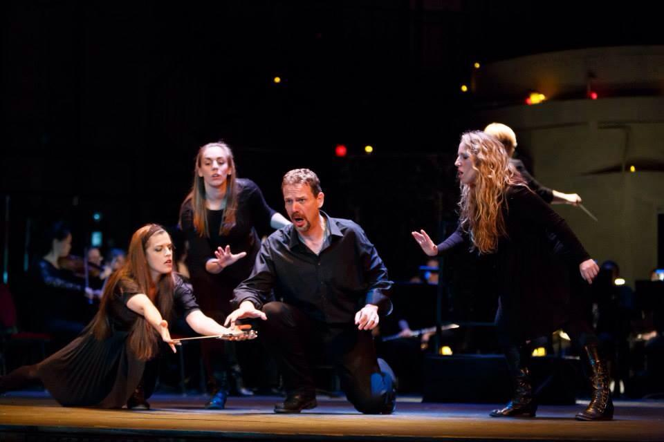 High Witch in Macbeth with Resonance Works