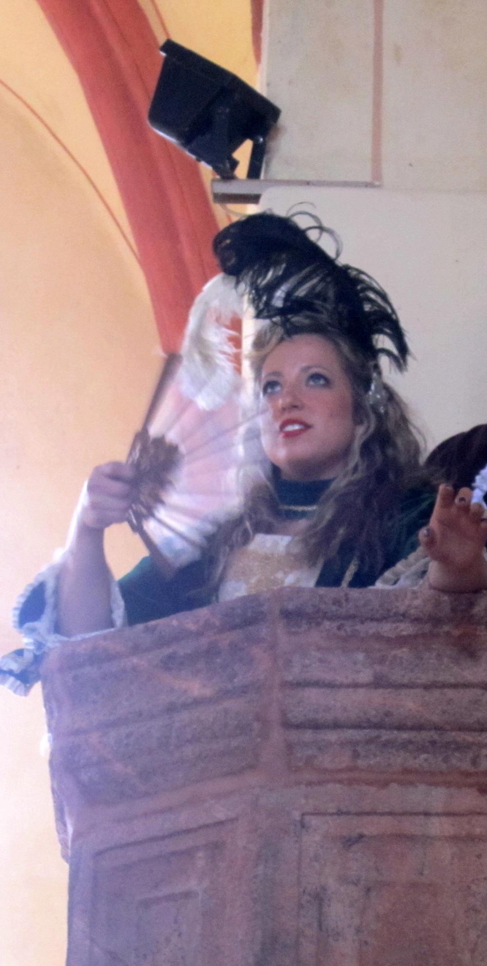 Madame Goldentrill in Der Schauspieldirektor with Mittelsachsisches Theater