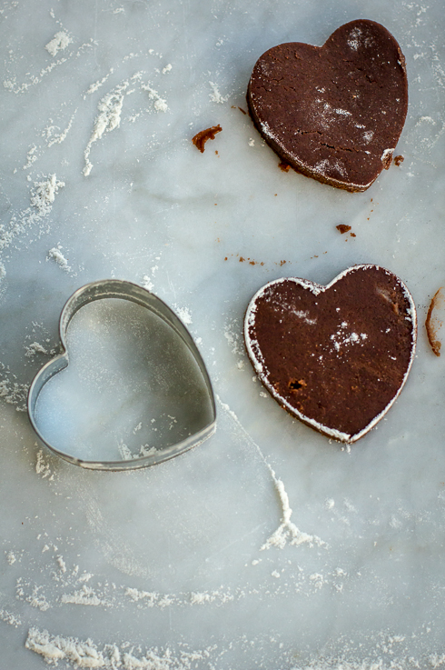 Cut out Heart Shape Cookies