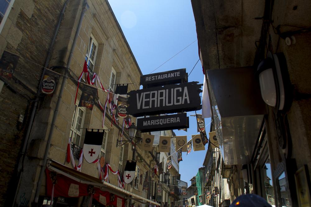 Calle de La Cruz, Lugo, Arde Lucus Festival © 2014 Helena McMurdo