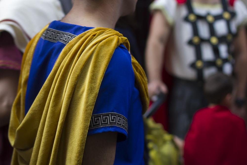 Roman Costume at Arde Lucus. © 2014 Helena McMurdo