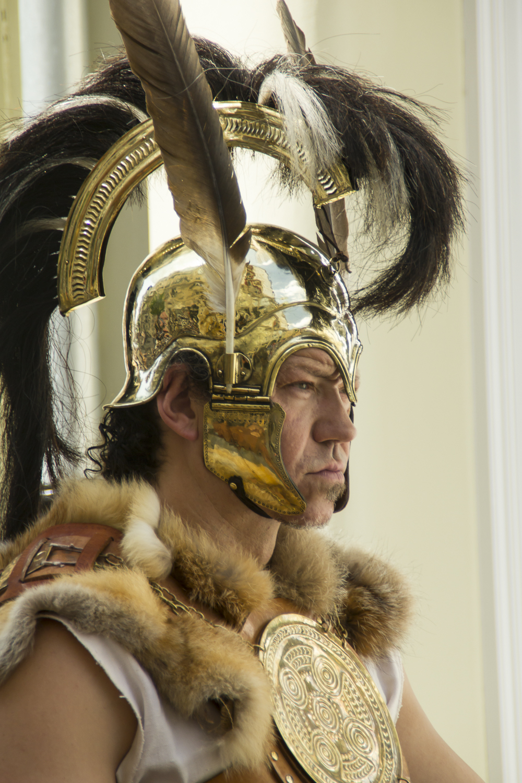 Roman Warrior at Arde Lucus. © 2014 Helena McMurdo