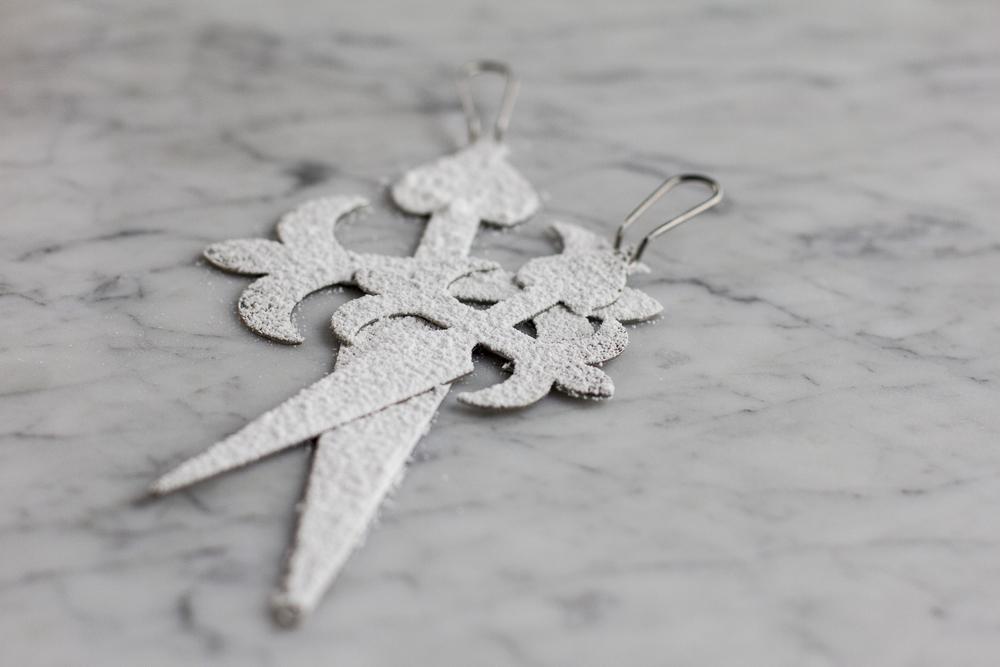 Metal Cross of Santiago for making Tarta de Santiago © 2014 Helena McMurdo