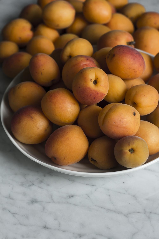 Beautiful fresh apricots © 2014 Helena McMurdo