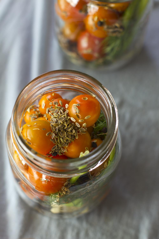 Pickling Tomatoes © 2014 Helena McMurdo