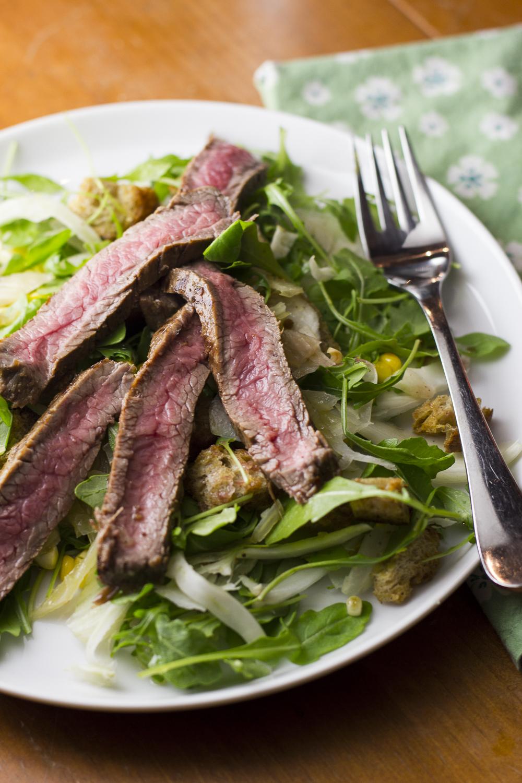 Pickled Fennel & Panzanella Salad © 2014 Helena McMurdo