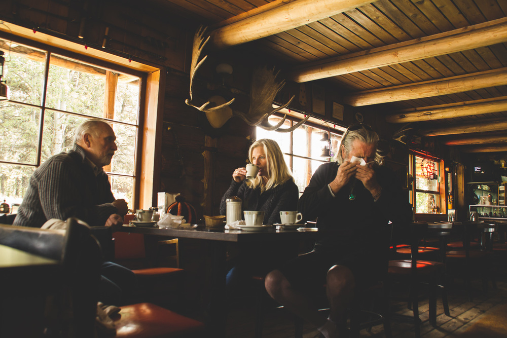Café at Chute Lake, BC. Photo by Helena McMurdo/Endless Picnic