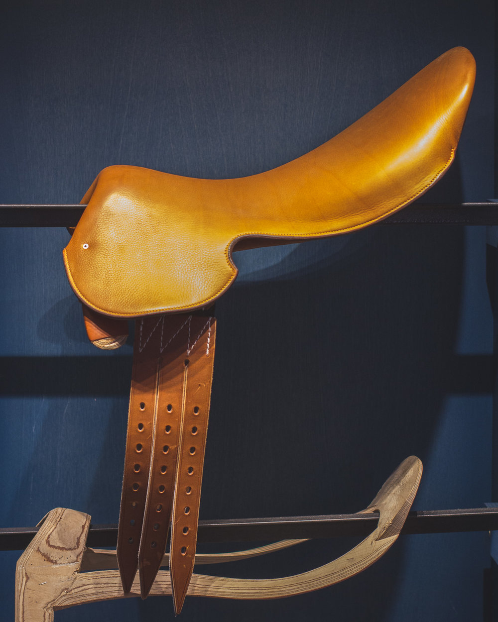 Saddle by Hermès            Photo: Helena McMurdo