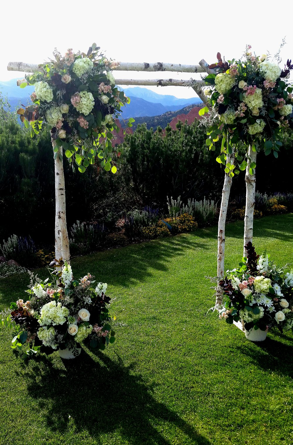 Rhonda Nichols, wedding florist in Colorado Springs