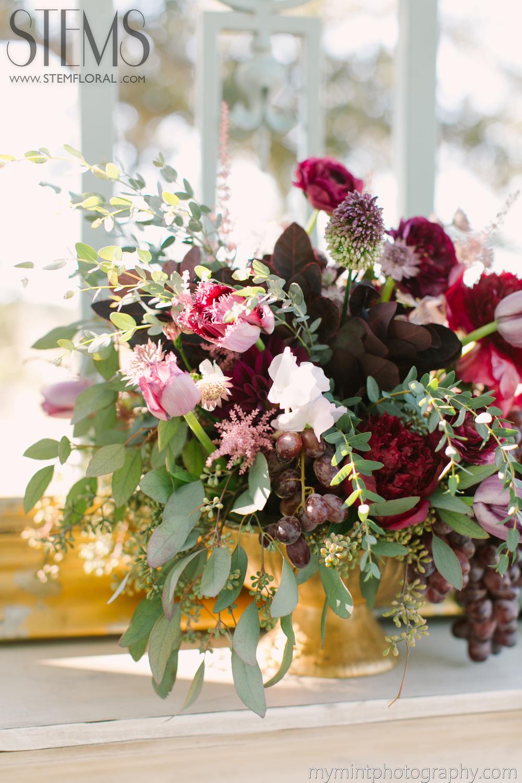 French Garden Opulence STEMS Austin Florist Austin Wedding