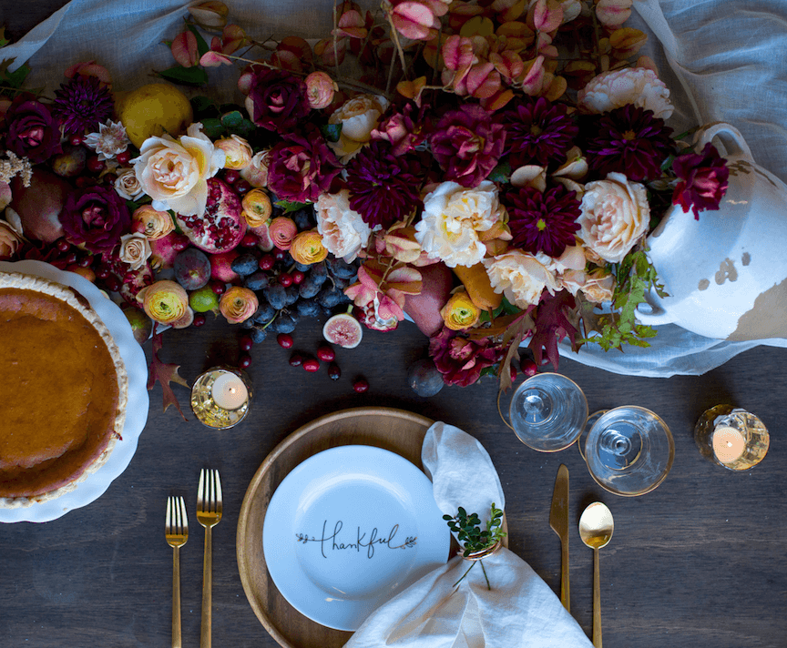 Thanksgiving Tabletop -