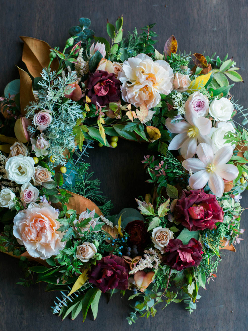 Floral Wreath - Grace's Rose Farm