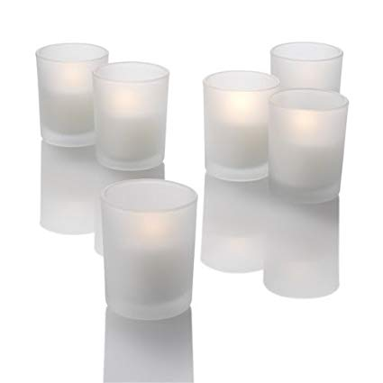 frosted votives