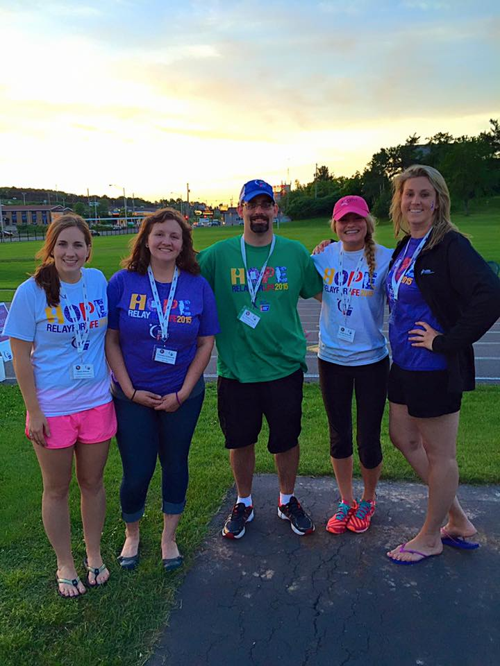Participating Board Members at the Relay for Life
