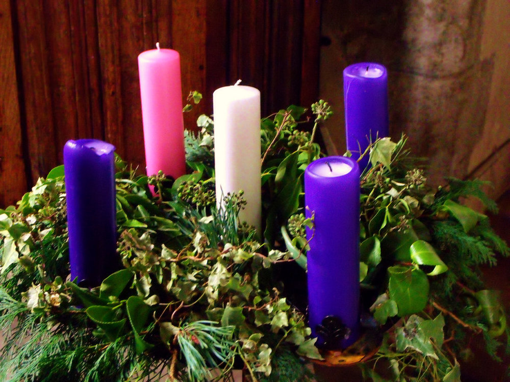 "What is Advent? - The word Advent comes from the Latin word ""adventus,"" meaning coming. For Episcopalians, it is the time in our Liturgical Calendar when we prepare for the coming of Christmas and all the joys that come with it. During this time, we are in a state of anticipation and commemoration of the good news that came into the world with Jesus and the knowledge that he will come again. We prepare for this with a series of four Sundays with special readings and songs."