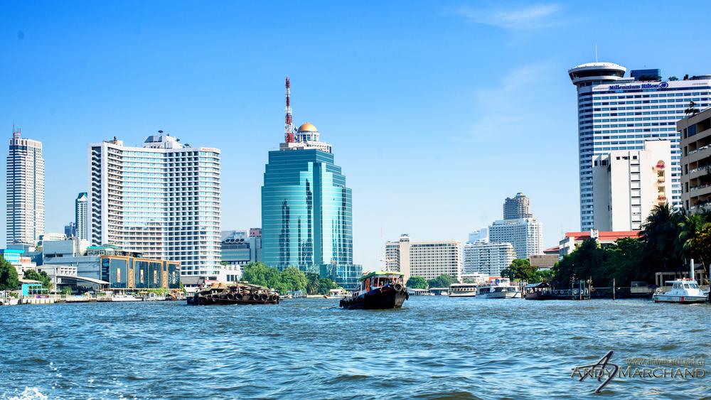 Samphan Thawong Bangkok Skyline