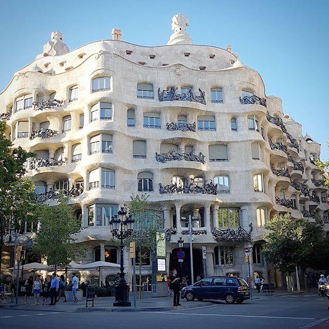 #Barcelona #Spain #casamilà #1000km