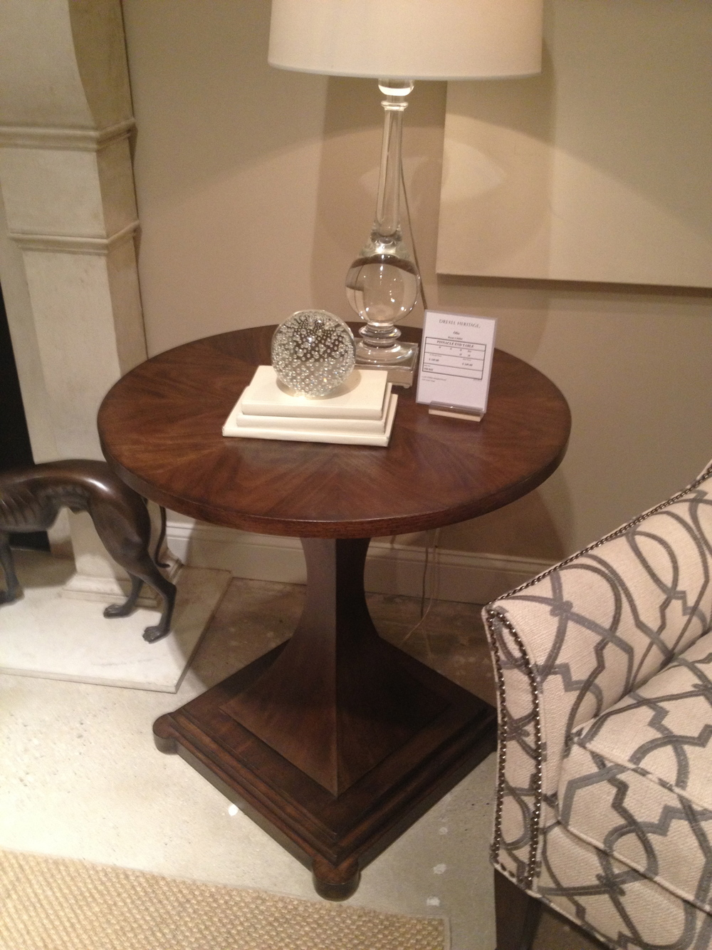 Love this side table - maybe for you Angie?
