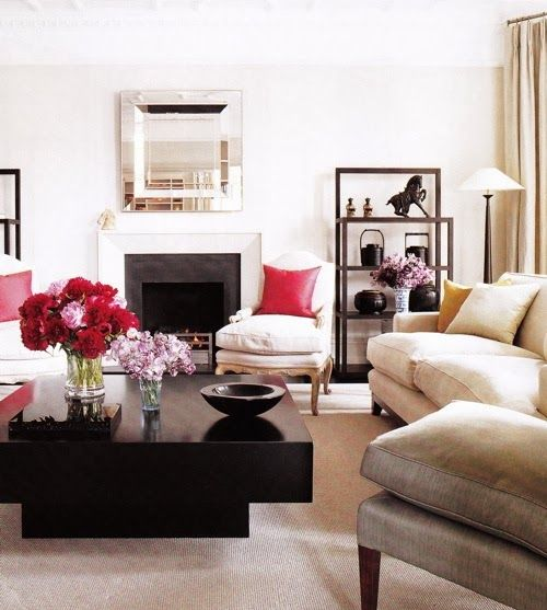 This coffee table makes a statement. http://www.southshoredecoratingblog.com/2014/03/manic-monday-13.html