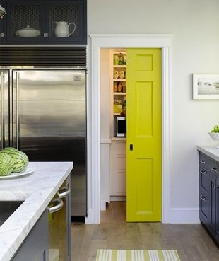 I adore this pocket door.  I utilized the same function for the space from my kitchen to office.  I may need to paint it a wild color.  http://homes.yahoo.com/news/bob-vila-radio-pocket-doors-050035551.html