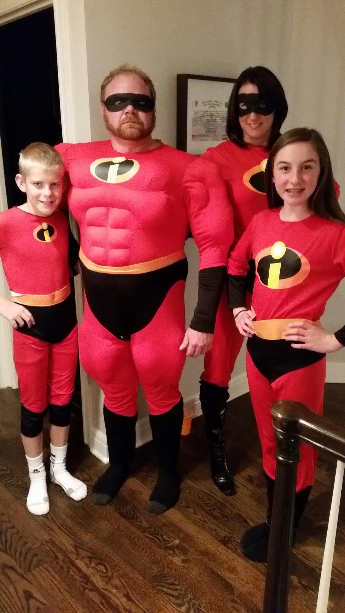 It was an Incredible Halloween!