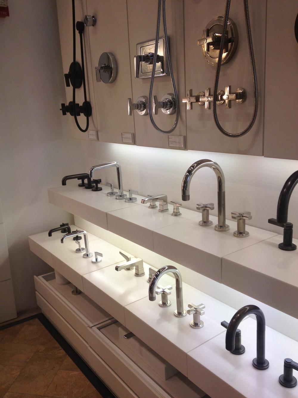 Kalista's showroom in Chicago. www.saranobledesigns.com
