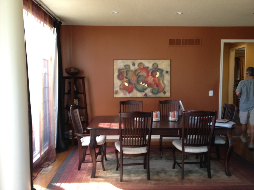 Before Wichman Dining room www.saranobledesigns.com