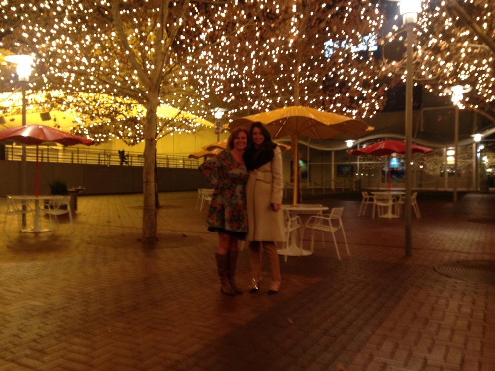 Krista and I at Crown Center before we all ran for the warmth of the limo.