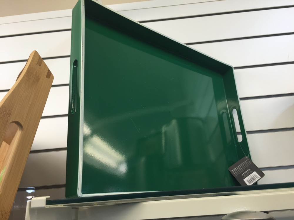 Home Goods Kelly Green Tray