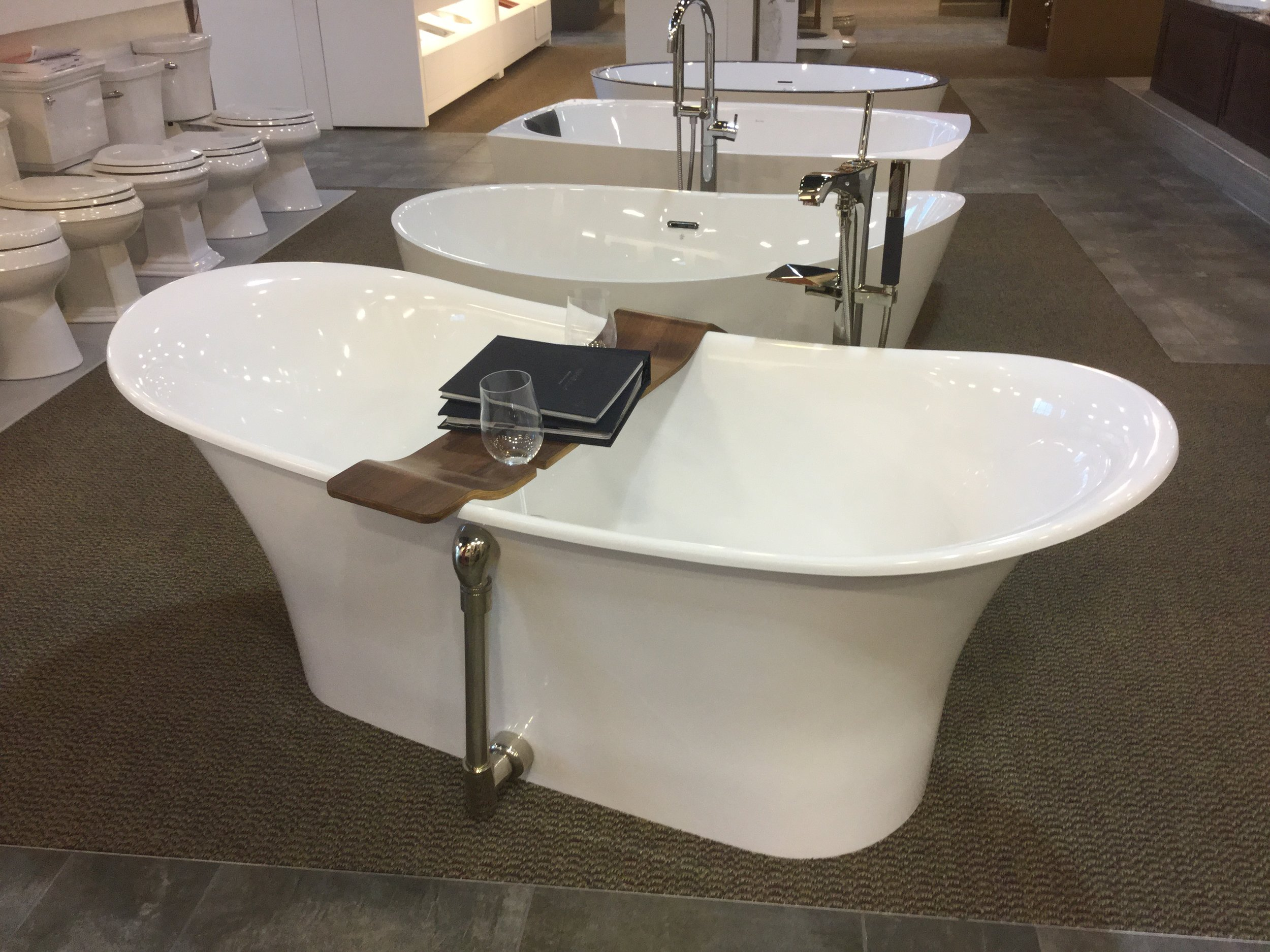 Kitchens and Baths by Briggs not only has top-notch customer service, but you can actually sit in these beauties.