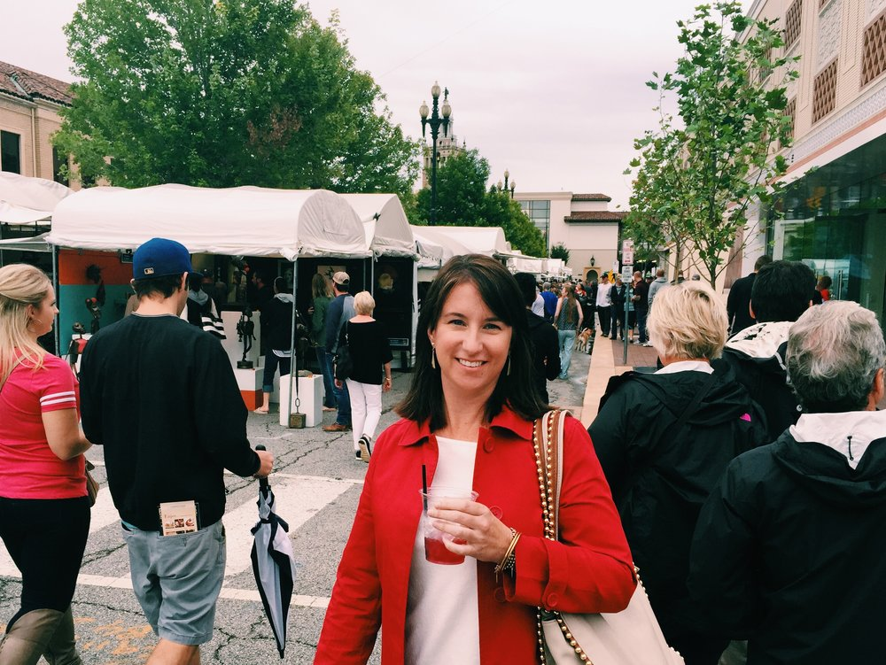 I made it to the Plaza Art Fair