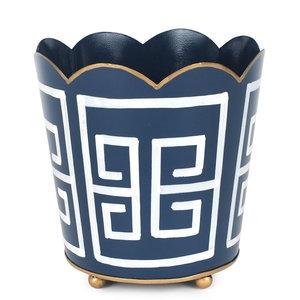 Greek Key Decorative Cachepot, $26.00