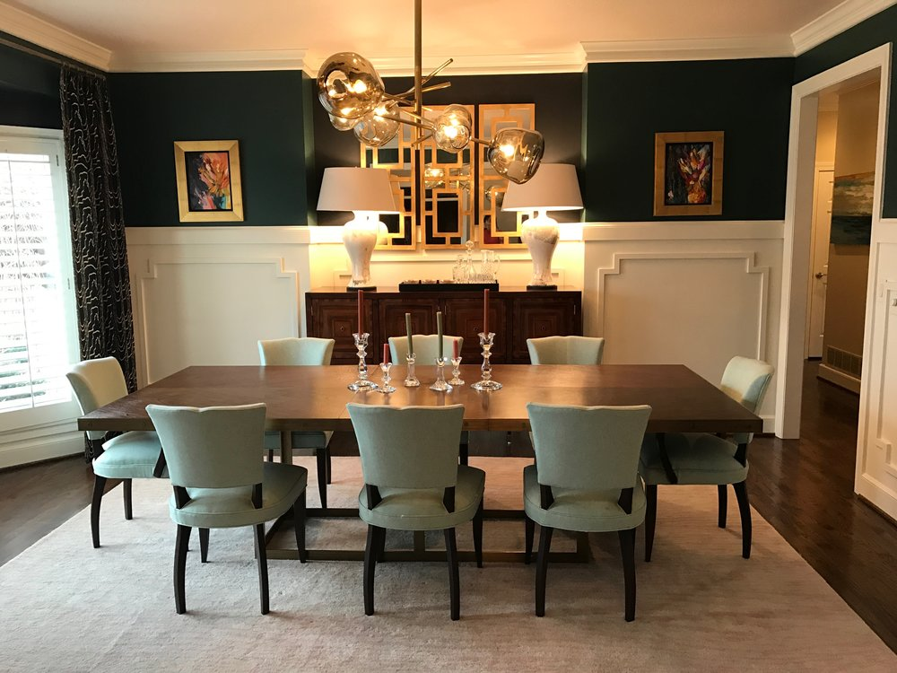 Mcmonagle dining room noble designs