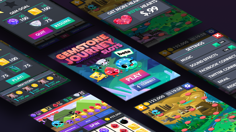 Gemstone Journey A small group of developers, artists, and designers enter the Shadow Lair. Two weeks later they emerge with Gemstone Journey. Role: Lead UI / UX Designer View→