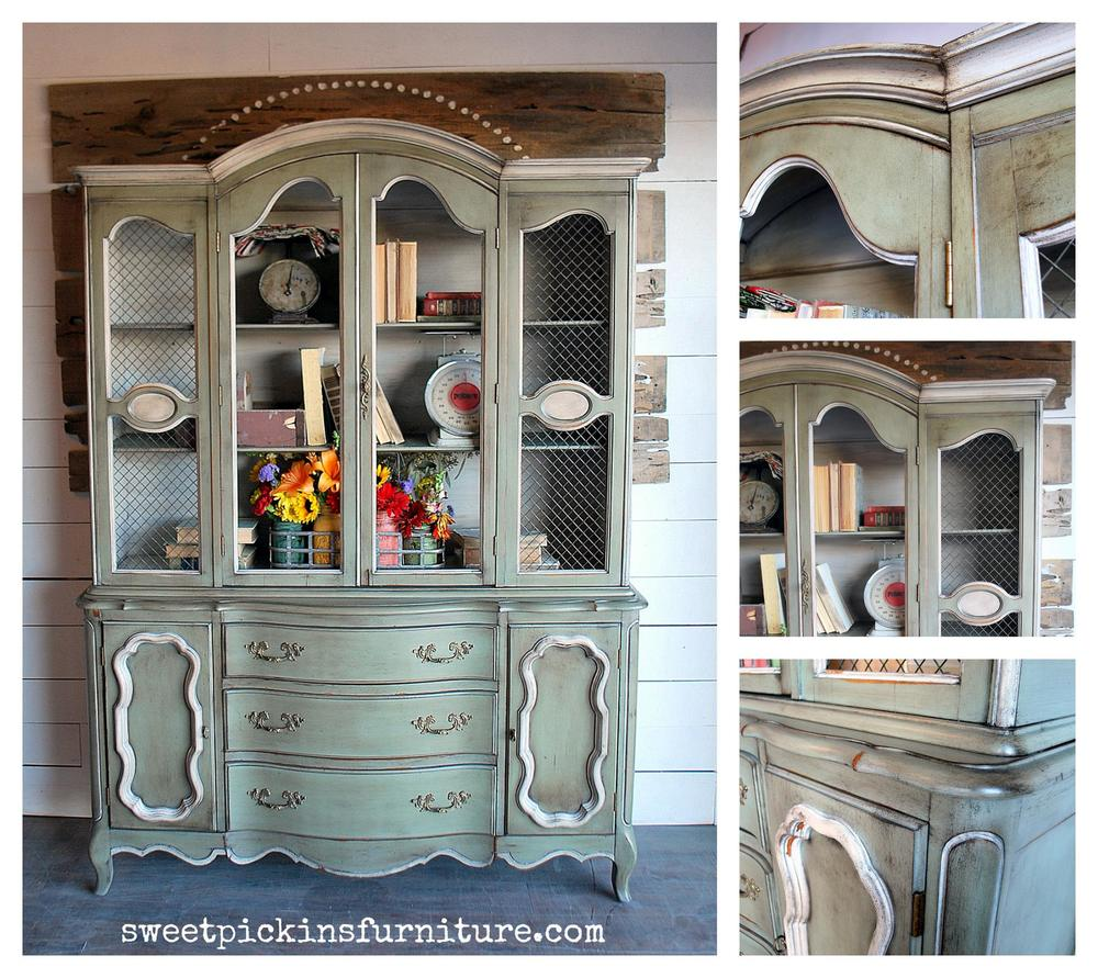 Painted By Sausha From Sweet Pickins Furniture   Using Sweet Pickins Milk  Paint, Of Course