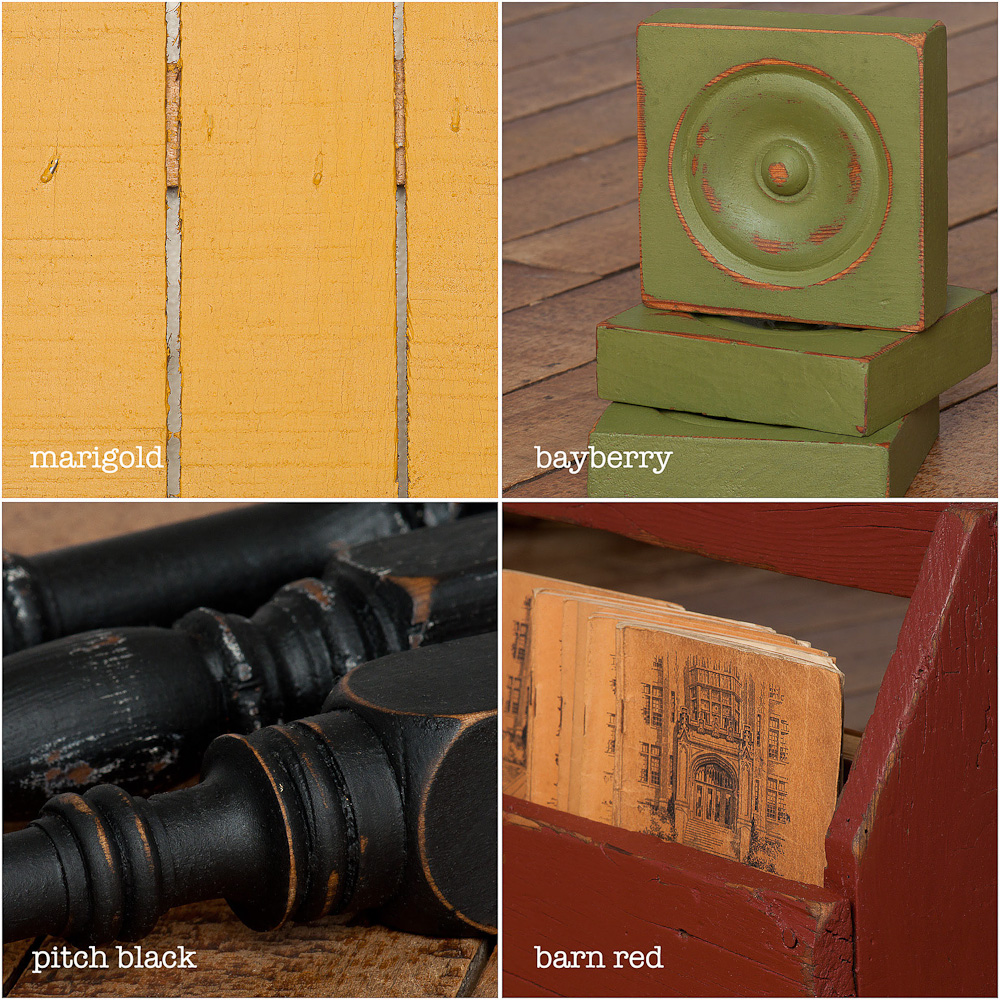 Milk paint tutorial from My Painted Door (.com)
