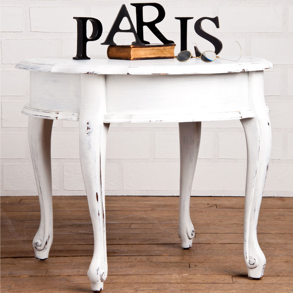 Creating a french country look with milk paint