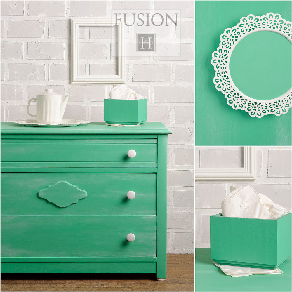 Fusion paint in ceramic - via My Painted Door (.com)