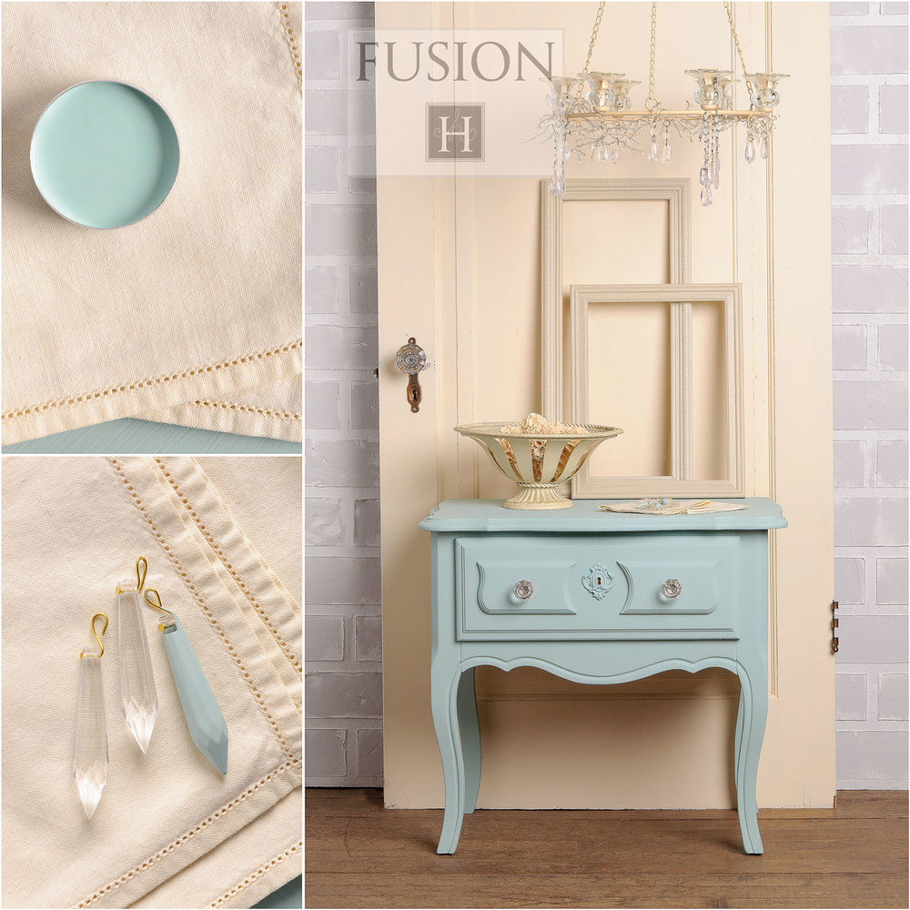 Fusion paint inglenook - via My Painted Door (.com)