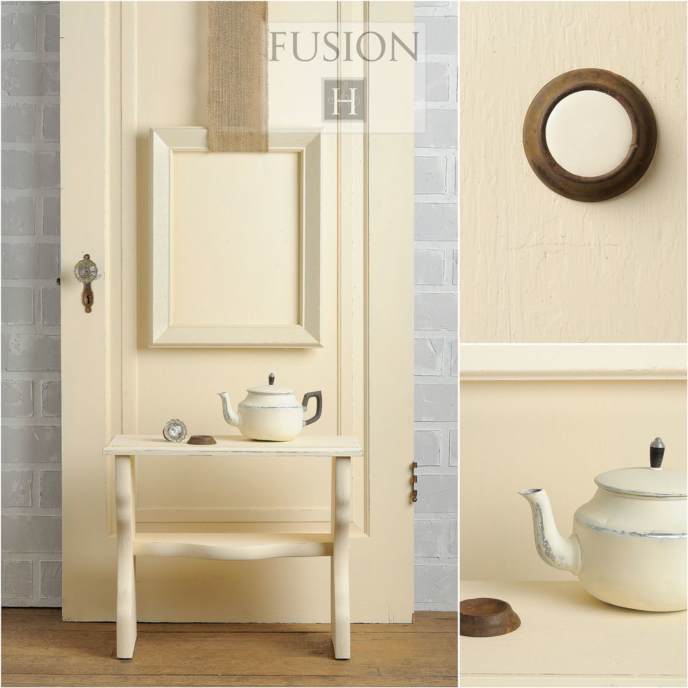 Fusion paint in limestone - via My Painted Door (.com)
