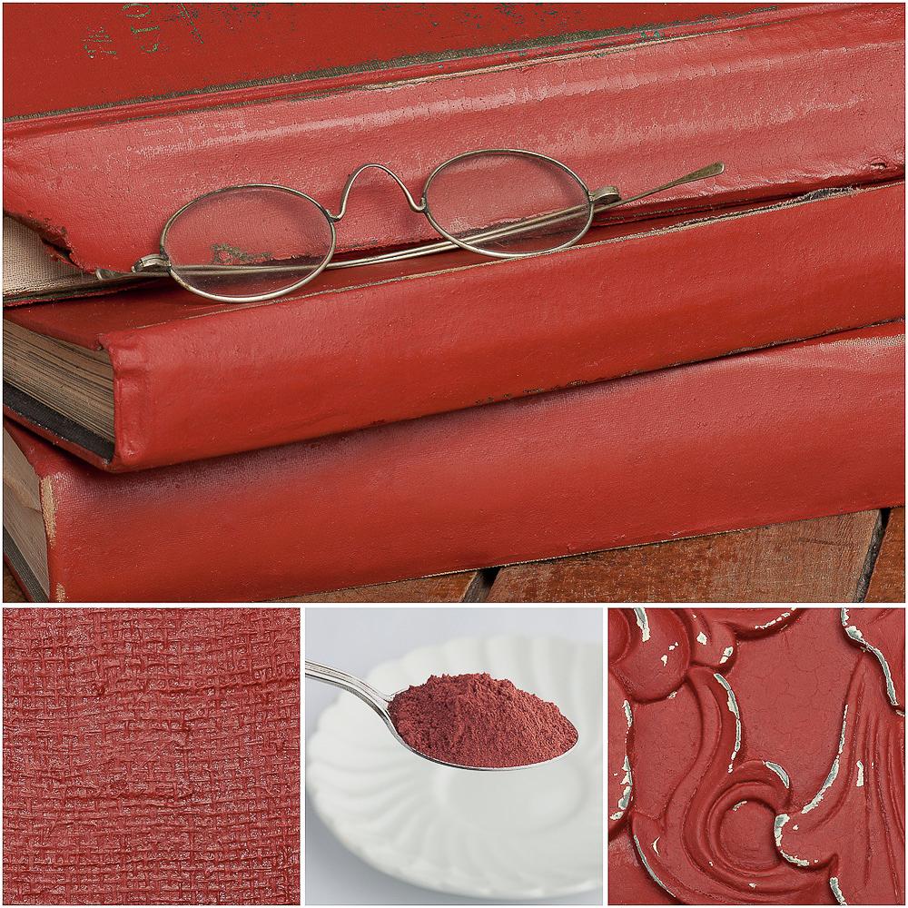 Sweet pickins milk paint in red wagon - via My Painted Door (com)