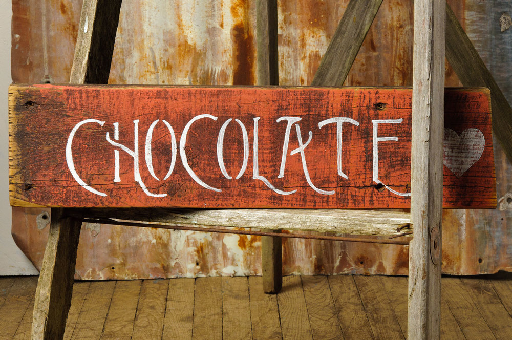 Handpainted signs with Mustard Seed's milk paint and Fusion mineral paint - via My Painted Door (.com)