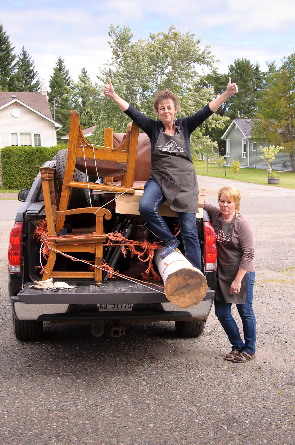 Girls gone junkin' - via My Painted Door (.com)